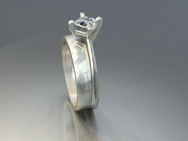 Tmx 1240431681000 SolitaireEngagementRingwithcontouringband Lutherville Timonium wedding jewelry