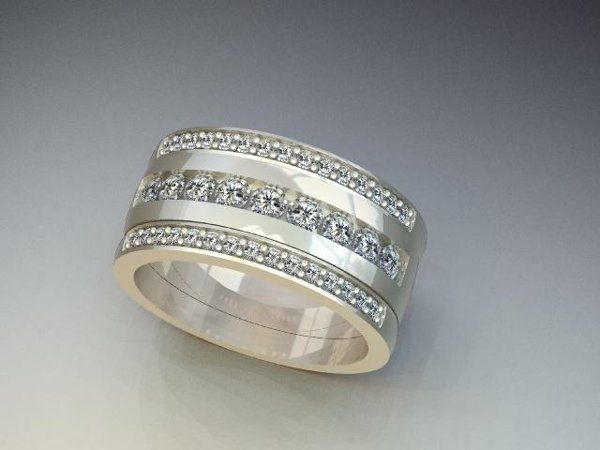 Tmx 1240431684953 StackableDiamondBands Lutherville Timonium wedding jewelry