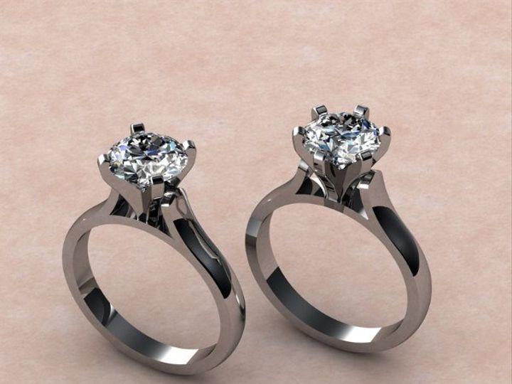 Tmx 1288109016655 4and6prongcathedralstylemounting Lutherville Timonium wedding jewelry