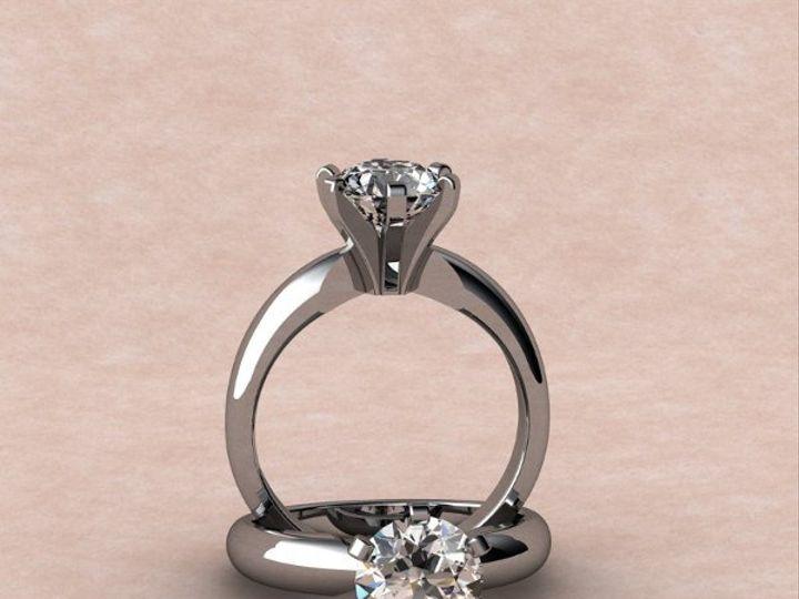 Tmx 1288109016670 1.30ctrd.diamondsolitaire Lutherville Timonium wedding jewelry