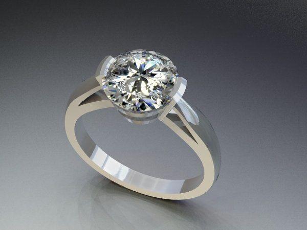 Tmx 1288109030795 SolitaireDiamondRing1 Lutherville Timonium wedding jewelry