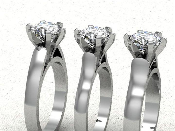 Tmx 1288109033889 Sideviewofshankoptions Lutherville Timonium wedding jewelry