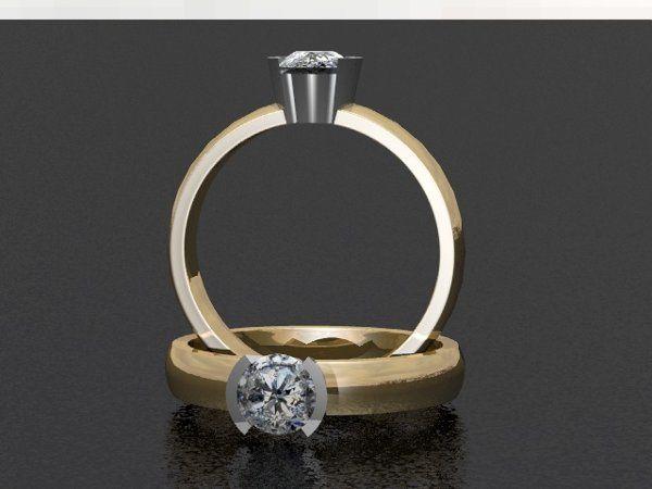 Tmx 1288109035498 SolitaireDiamondRing Lutherville Timonium wedding jewelry