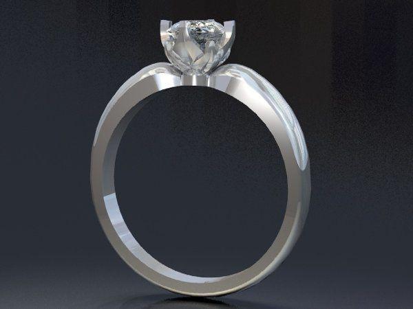 Tmx 1288109038248 SolitaireEngagementRing Lutherville Timonium wedding jewelry