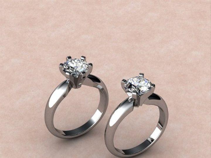 Tmx 1288109046561 Tiffanystylesolitairemtg.witha4or6prongoption Lutherville Timonium wedding jewelry