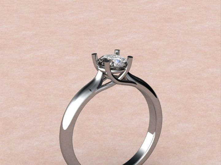 Tmx 1288109061623 SolitaireEng.Ring Lutherville Timonium wedding jewelry