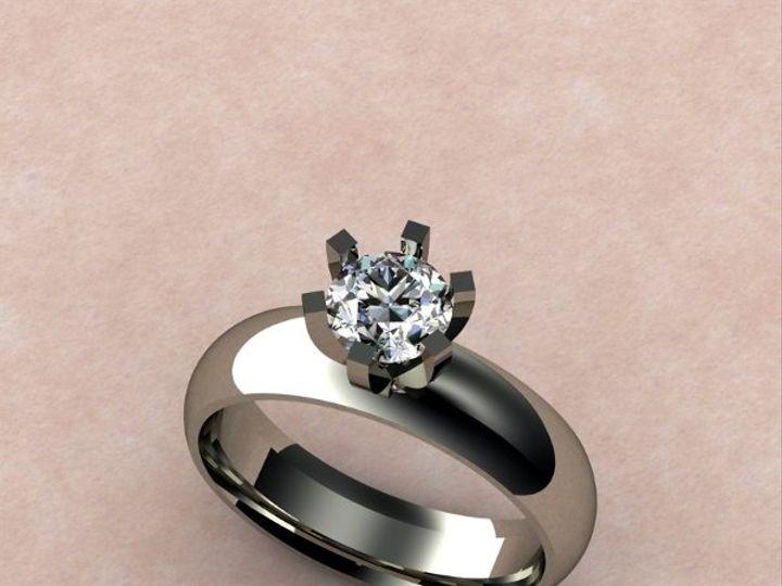 Tmx 1288109065608 WideBandSolitaire Lutherville Timonium wedding jewelry