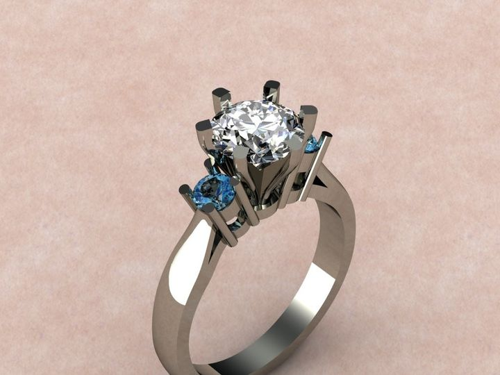 Tmx 1390595814020 Diamond  Blue Topa Lutherville Timonium wedding jewelry