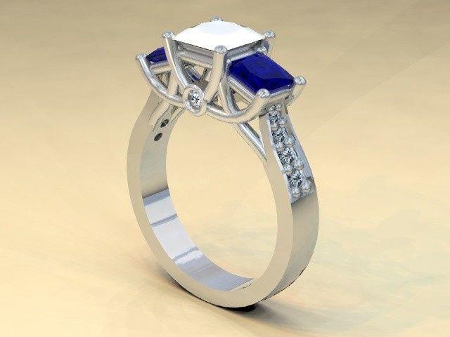 Tmx 1390595820969 Diamond And Sapphir Lutherville Timonium wedding jewelry