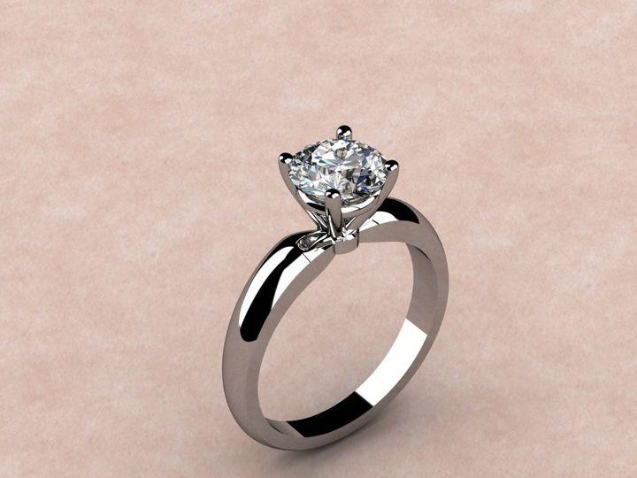 Tmx 1390595921339 4 Prong Solitair Lutherville Timonium wedding jewelry