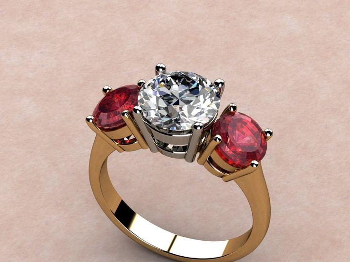 Tmx 1390595972690 Diamond With Matched Pair Rubie Lutherville Timonium wedding jewelry