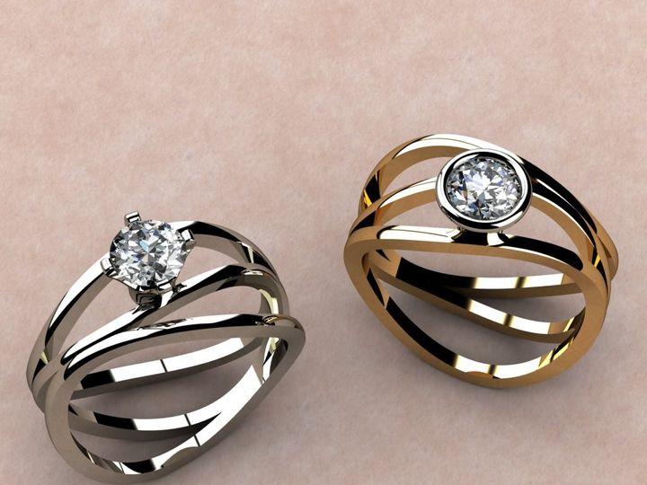 Tmx 1390596038858 Kasper Ring Color Optio Lutherville Timonium wedding jewelry