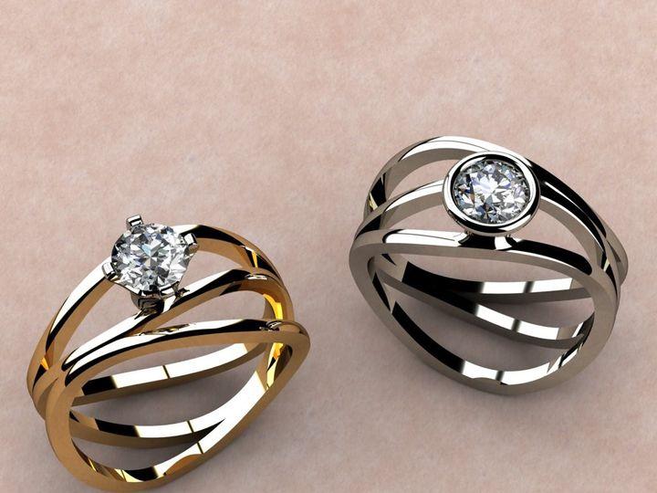 Tmx 1390596041425 Kasper Ring Option Picture Lutherville Timonium wedding jewelry