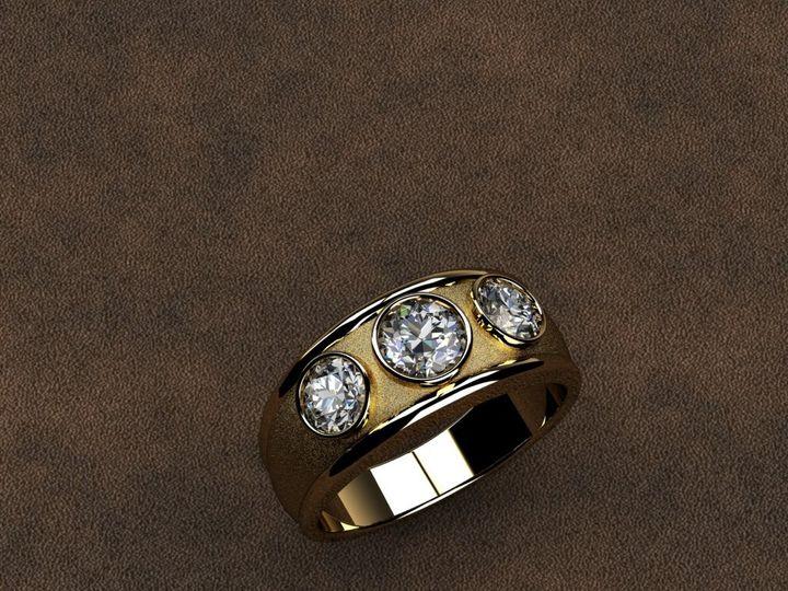 Tmx 1390596141199 Mens 3 Stone Diamond Rin Lutherville Timonium wedding jewelry
