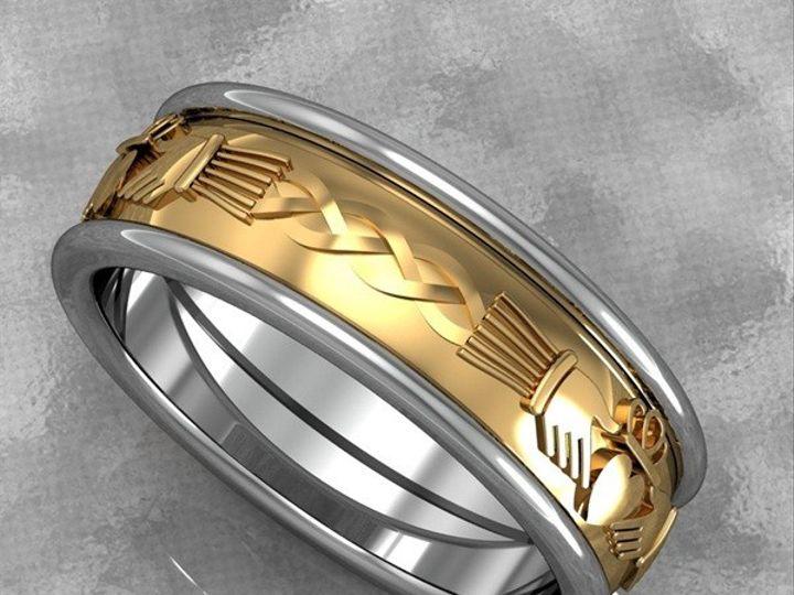 Tmx 1390596143947 Mens 3 Strand Woven Celtic Design Ban Lutherville Timonium wedding jewelry