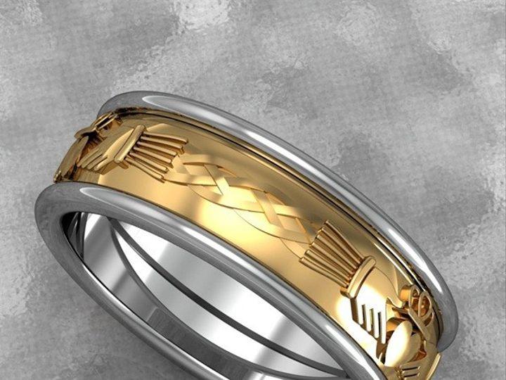 Tmx 1390596145586 Mens 4 Strand Celtic Design Ban Lutherville Timonium wedding jewelry