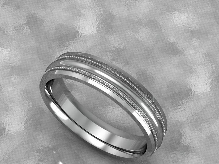 Tmx 1390596152620 Milgrain Mens Ban Lutherville Timonium wedding jewelry