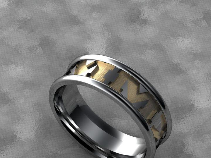Tmx 1390596159166 Roman Numerals Custom Ban Lutherville Timonium wedding jewelry