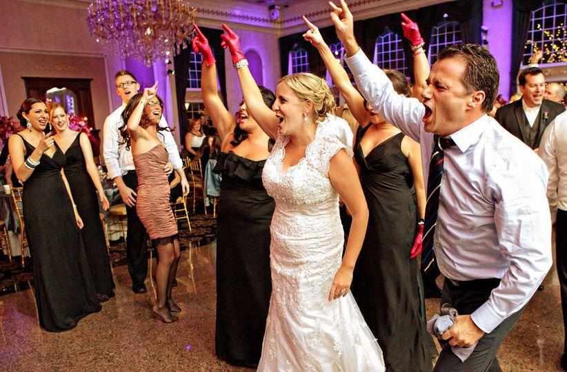 florentine gardens wedding dancing