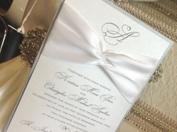 Tmx 1415220702205 5 Hicksville, New York wedding invitation