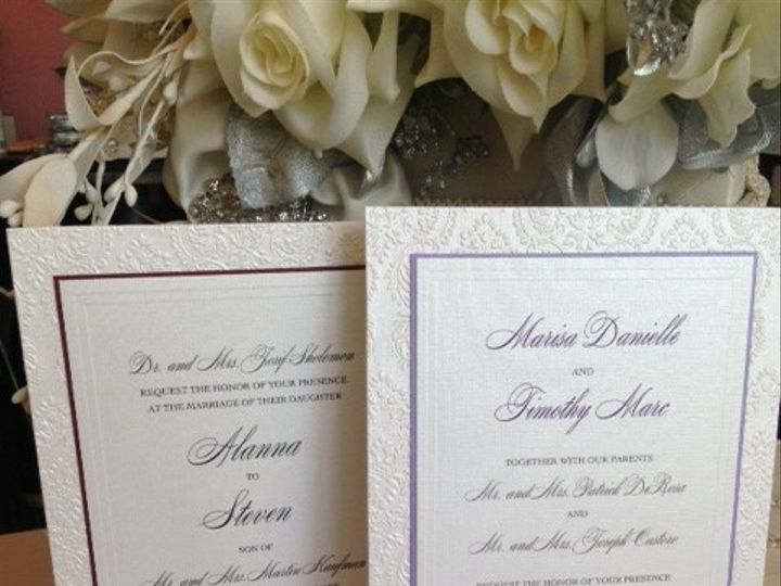 Tmx 1497557178877 Invite4 Hicksville, New York wedding invitation
