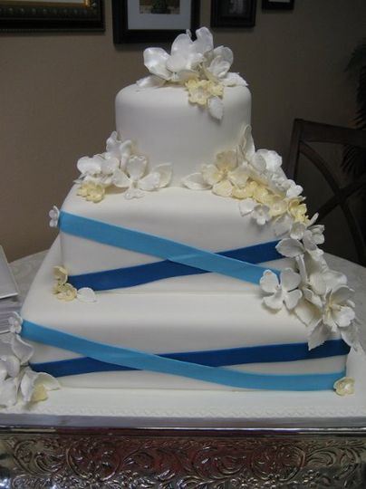 Edible Creations Custom Cakes Wedding Cake Cooper City FL