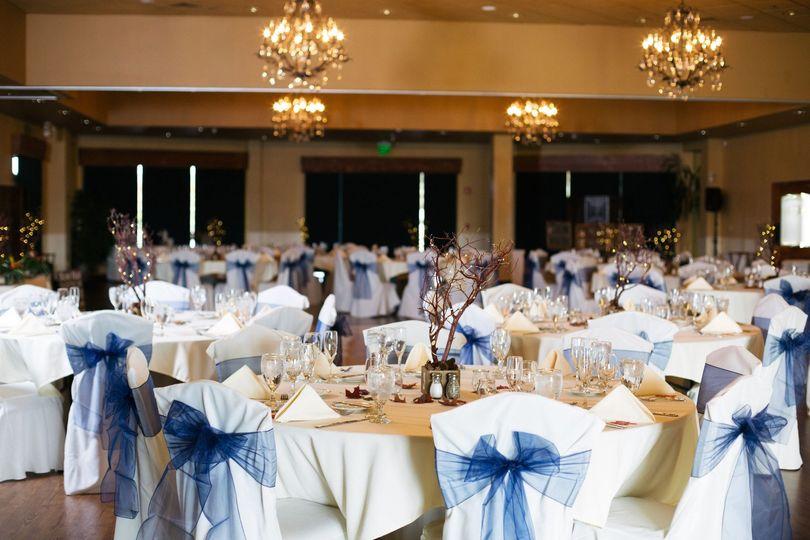 Tables Ballroom Reception