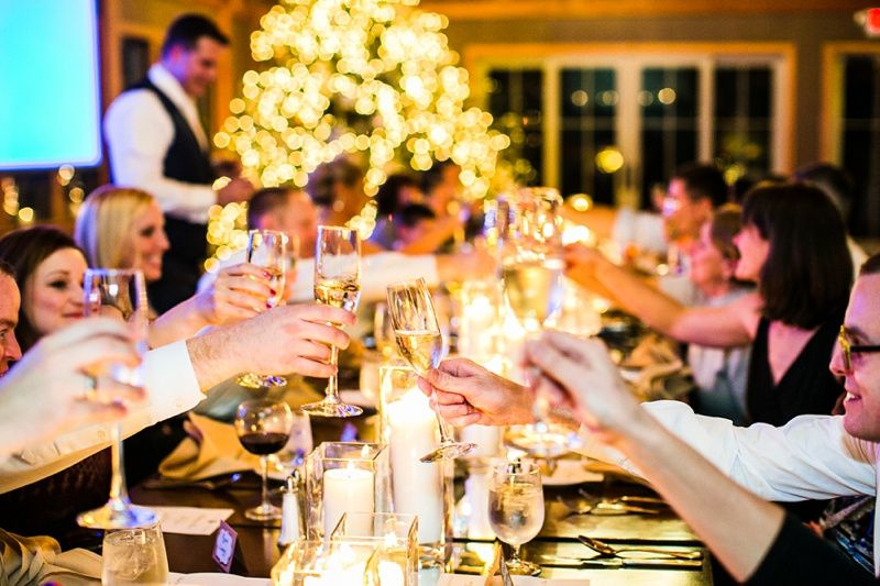 Holiday Wedding Toast