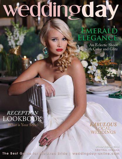 Wedding Day Magazine Cover