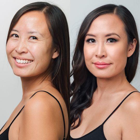 Makeup: Soft Smokey Eyes Hair: Tighter Curls