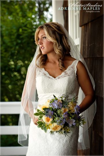 adrienne maples beautiful midwest bride lace gown