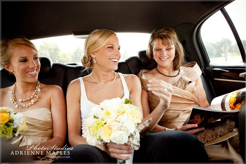 800x800 1420658490424 adrienne maples bride rides car with mother sister