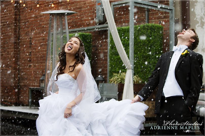 800x800 1420658570398 snow day wedding bride groom eating snow