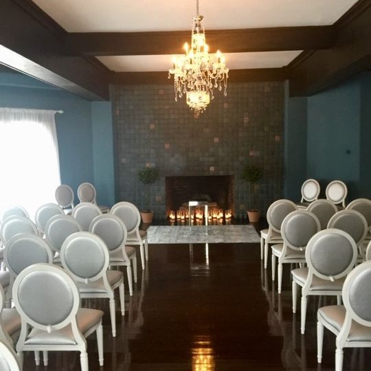Ceremony in Living Room
