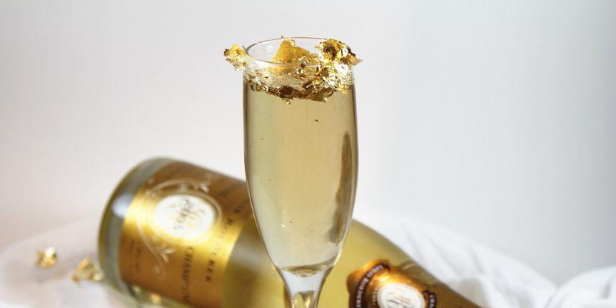 gold leaf champagn