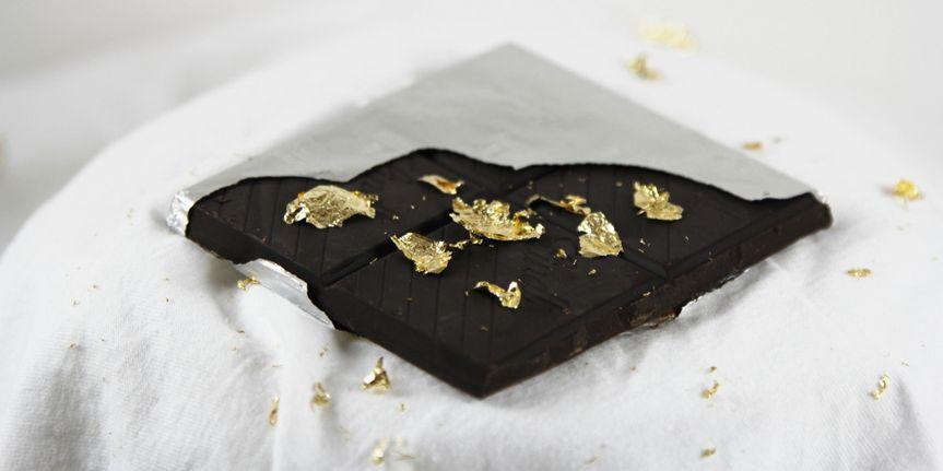 gold leaf chocolat