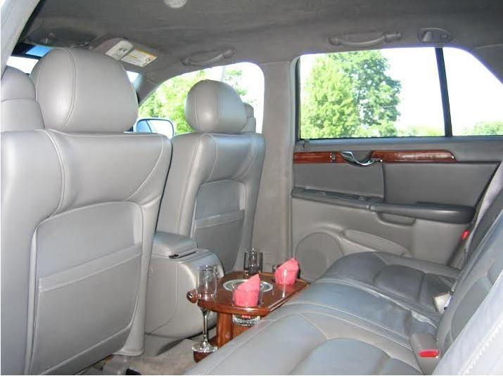 Interior of car rental