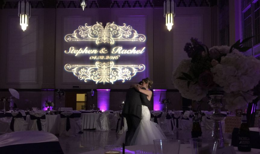 Monogram + Uplighting + Love