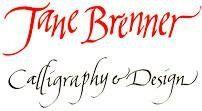 Jane Brenner Calligraphy and Design