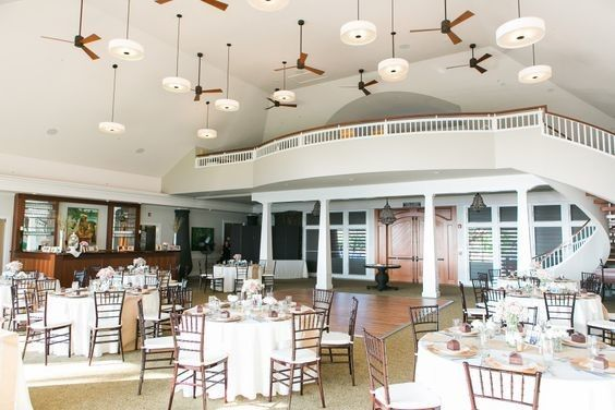 Indoor reception at Sugar Beach Pavilion, destination wedding, Chiavari Chairs, Ivory Linen,...