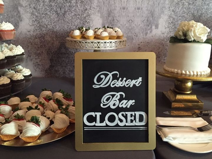 Wedding cake selection