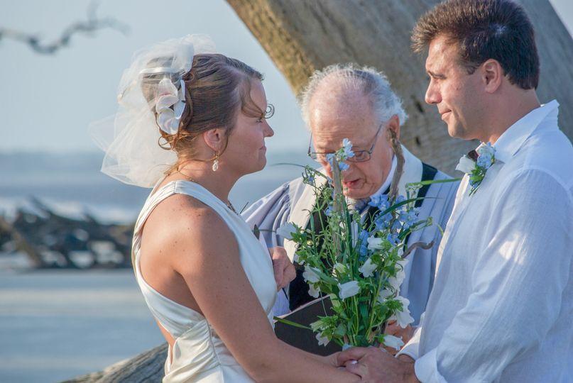 Jekyll Island Beach Wedding