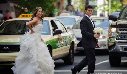 The wedding of Jen and Ben