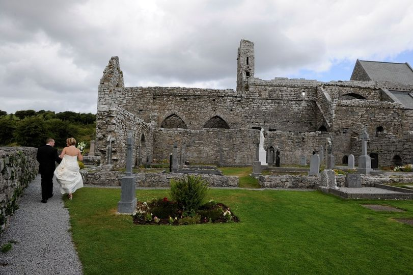 This beautiful ruined Abbey situated on the edge of the rocky hills of the Burren dates from 1195...