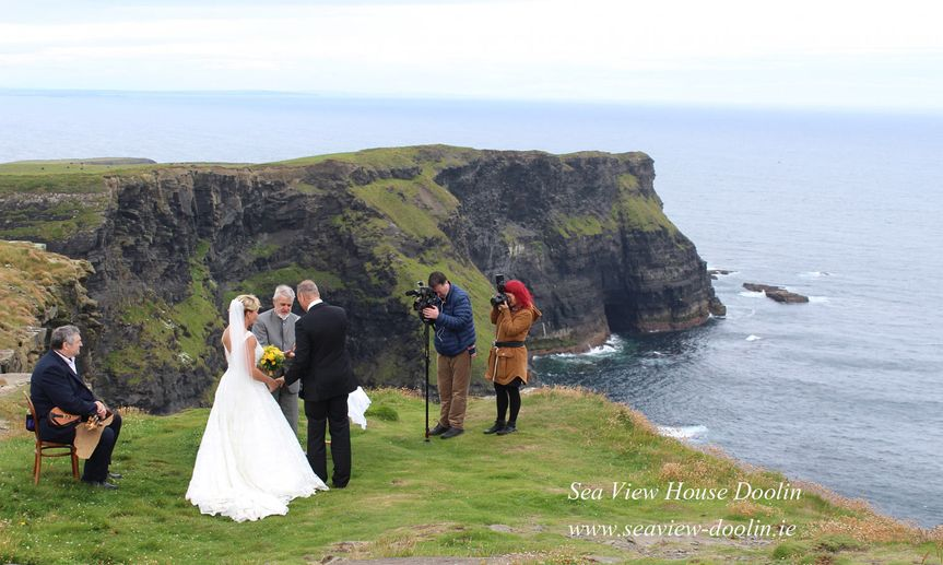 Hags Head is a  stunning remote edge of the world cliff top location. Towering 600 ft above the...