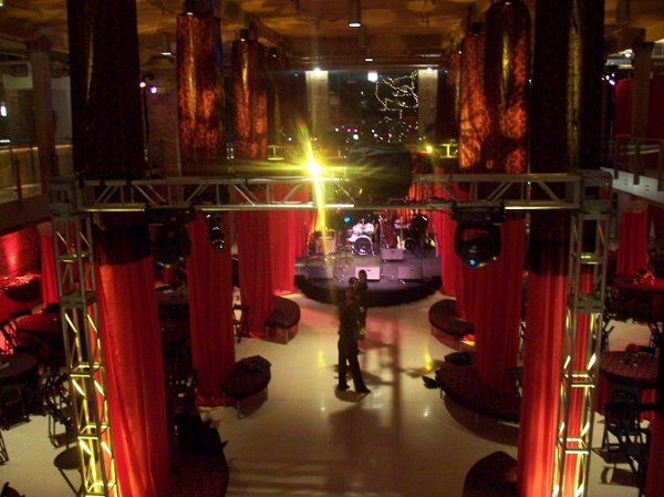 We turned the River East Arts Center into the Moulin Rouge