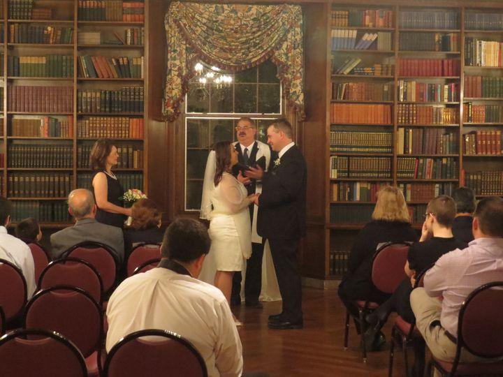 Tmx 1395277862591 Nick And Laurie War Memorial Wedding 02 Allenton wedding officiant