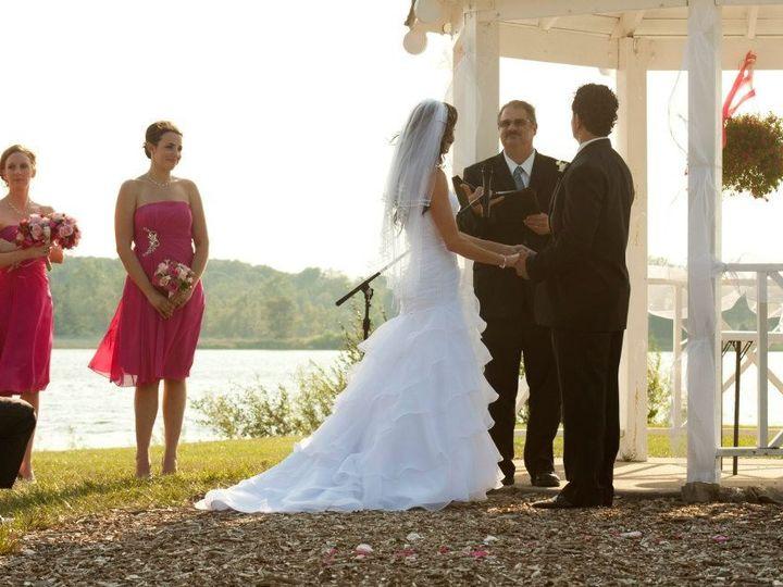 Tmx 1395279095084 Jen And Joe At Stoney Cree Allenton wedding officiant
