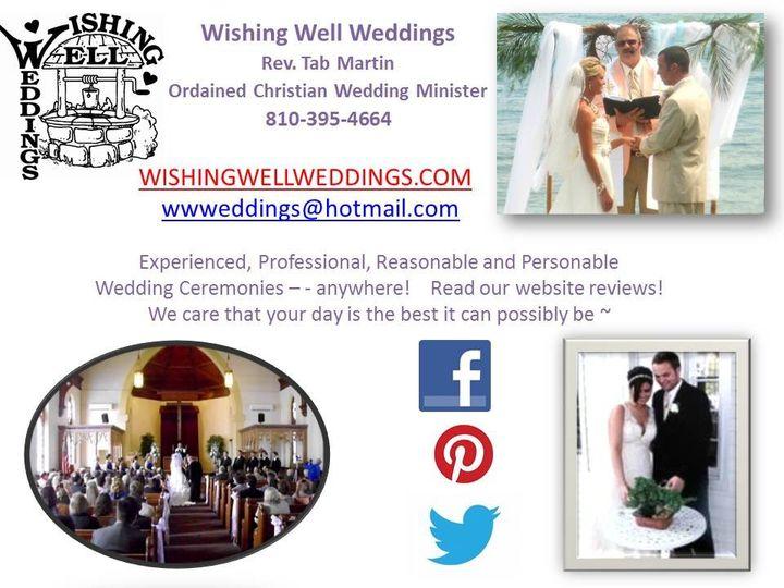 Tmx 1395283150113 Bridal Show Ad Cop Allenton wedding officiant
