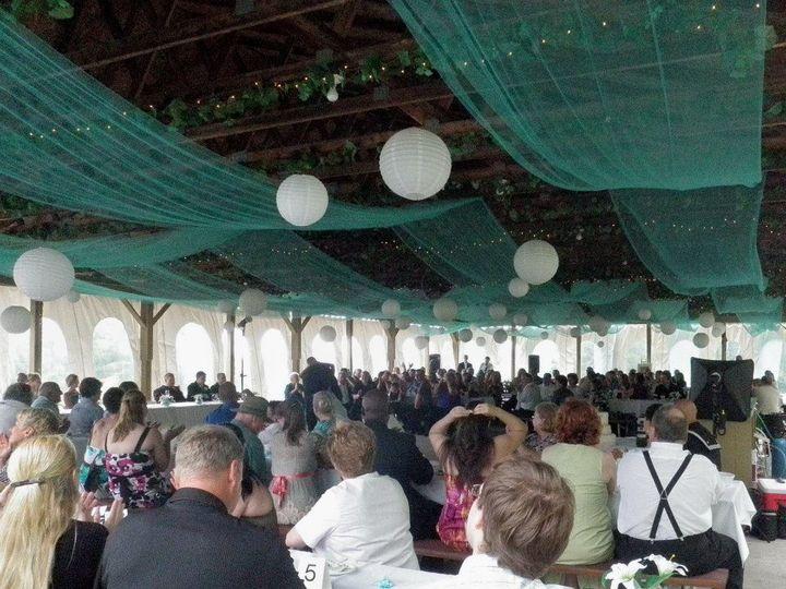 view wedding pavilion